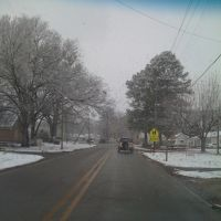 Snowy Day - Hueytown Road (19th Street N), Мидфилд