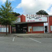 The old Fairfield Movie Theater, Мидфилд