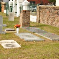 Church Street Cemetery - Mobile, Alabama - Grave of Joe Cain - Back Right, Мобил