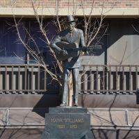 Hank Williams Statue, Монтгомери