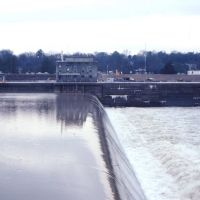 Dam and lock at North Port, Alabama, Нортпорт