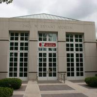 "The University of Alabamas Paul W. Bryant Museum ""ROLLFRELLINTIDE!"" ""WARFrakenEAGLE!"" 7/6/2007, Нортпорт"