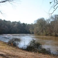 Overlooking the Tallapoosa River, Нью-Сайт