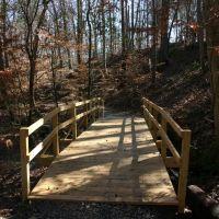 Bridge Along Nature Trail, Нью-Сайт