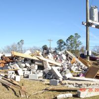 TORNADO DAMAGE IN SOUTHERN ALABAMA #1, Ньювилл