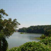 Lake Eufaula, Ньювилл