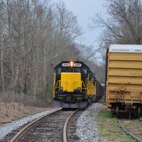 Autauga Northern Railroad, Оакман