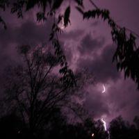 Lightning from 4-16-11 storm, Опп