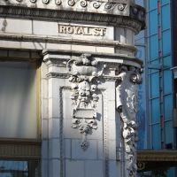 Bank on corner of Royal and Dauphin Streets, Причард