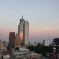 RSA Tower facing sunset, Причард