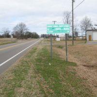 Elmore direction sign, Робинсон Спрингс