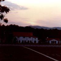 Sunrise over Bains Gap, Сакс