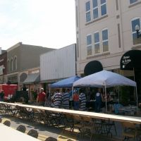 Preparations for motorcycle rally Anniston, Alabama, Rumble on Noble 2010, Сакс