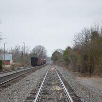 Autauga Northern Railroad, Седар-Блуфф