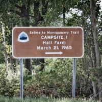 Hall Farm - First Camping Site of the Salem to Montgomery Voting Rights March, Селмонт