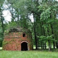 Old Brick Charcoal Kiln at Kenans Mill near Selma, AL, Селмонт
