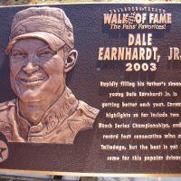 Talladega Walk of Fame Dale Earnhardt, Jr., Талладега