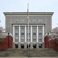Alabama - DeKalb County Courthouse, Форт-Пэйн