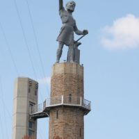 Vulcan, the largest iron statue in the world. 8/20/2007, Хомевуд