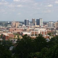 Skyline of the City of Birmingham, Alabama. 8/20/2007, Хомевуд