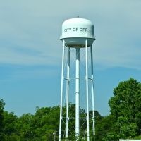 City of Opp water tower, Хорн Хилл