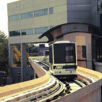 Tram along the tracks, Хунтсвилл