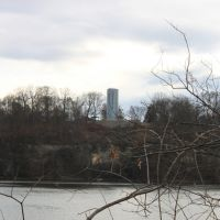 The Sheffield Water Tower from across the Tennessee River, Шеффилд