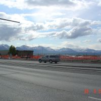Merrill Field desde 5th Ave, Anchorage , AK, Анкоридж