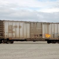 Alaska Railroad Box Car No. 94103 at Anchorage, AK, Анкоридж