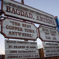 Bagdad, yes!... just in Arizona, Багдад