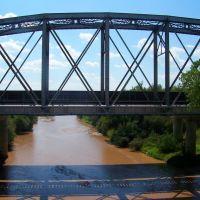 Railroad bridge over the San Pedro, Бенсон
