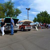 Glendale,AZ: Restored Ford Auto Show, 1960s F-100 pickups 2011,, Глендейл