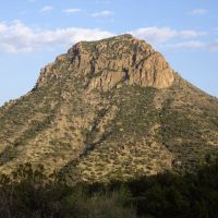 Squaw Peak, Verde River, Arizona, Глоб