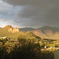 Storm brewing over the Superstitions, Кашион