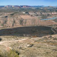 Slag - United Verde Mine, Clarkdale, AZ, Кларкдейл