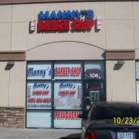 Mannys Barber Shop (480) 464 4403, Меса