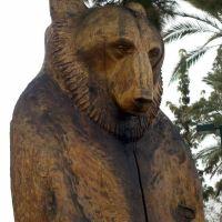 Statue, Looking West, Winter 2012, Меса