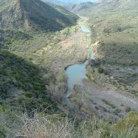 Verde River from FR 68e @ 3,030 elevation, Парадайс-Вэлли