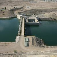Headgate Dam near Parker, Arizona, Паркер
