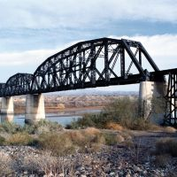 Colorado River Railroad Bridge, Parker, AZ, Паркер