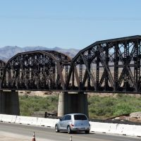 Parker, AZ: Arizona & California RR bridge  (0669), Паркер