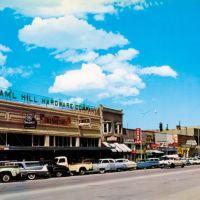 Whiskey Row in Prescott, Arizona, Прескотт