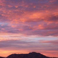 Sunset over Granite Mountain, Прескотт