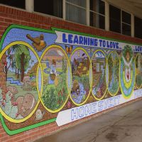 2013, Local Ecology Mural, Miller Valley Elementary School, Prescott, AZ, Прескотт