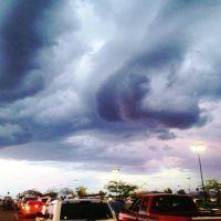 Summer sky. Cielo de verano. Sierra Vista, AZ I, Сьерра-Виста