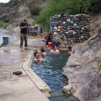 Hot Springs On Verde River, Arizona, Темп