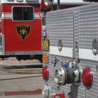 Tucson firetruck 1, downtown Tucson, AZ, Тусон