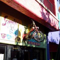 Scooter sur un Resto, Tucson, AZ, Тусон