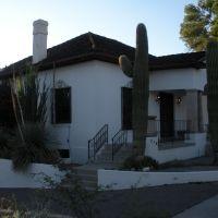 Maison blanche dans le Presidio, Tucson, AZ, Тусон