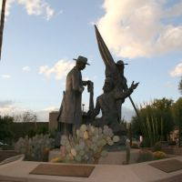 Tucson, Monument in Presidio Plaza, Тусон
